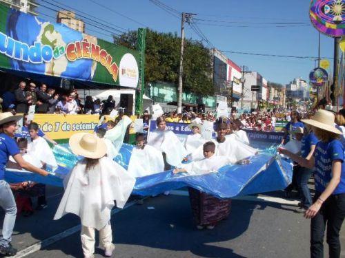 7日はブラジル独立記念日。サン...