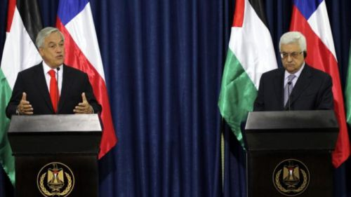 引用元:http://santiagotimes.cl/2018/05/11/chile-supports-palestines-right-to-independence-pinera-tells-abbas/