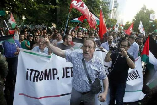 引用元:http://santiagotimes.cl/2017/12/12/jerusalem-is-palestine-chilean-protesters-to-trump/